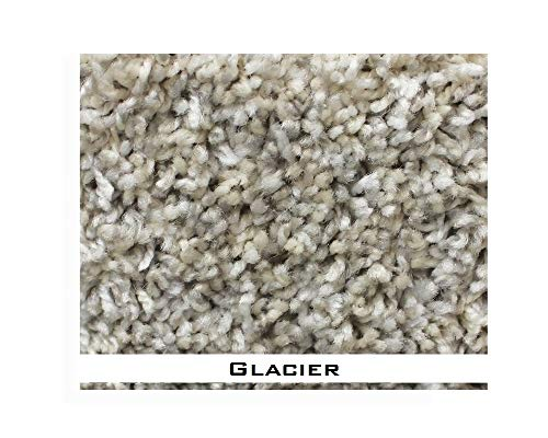 9'x12' - Glacier - ECONOMICAL Solutions Floor Decor Custom Cut Carpet Area Rugs. Affordably Soft & Durable for Less