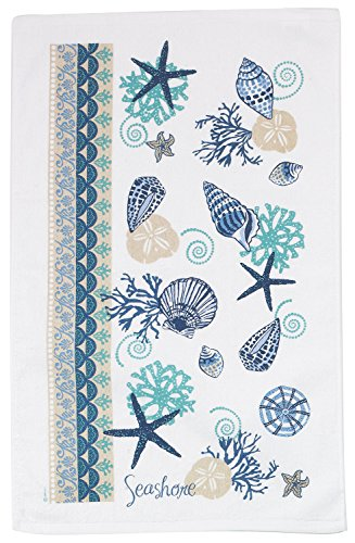 Kay Dee Designs R2540 Blue Shells Terry Towel