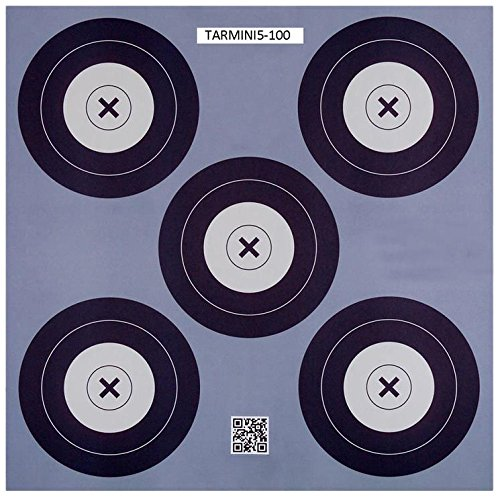 .30-06 Outdoors 5 Spot Mini Paper Target (100 Count), Blue by 30-06 OUTDOORS LLC