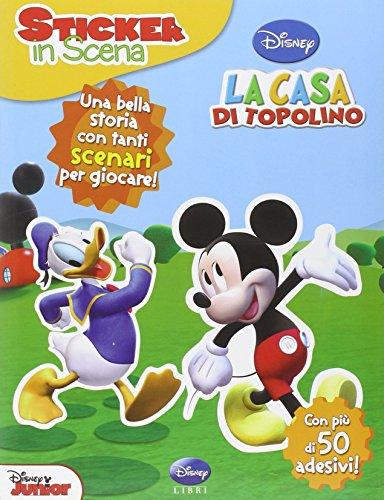 Deck 40 Italian Playing Cards Mickey Mouse Disney Casa di Topolino Briscolina