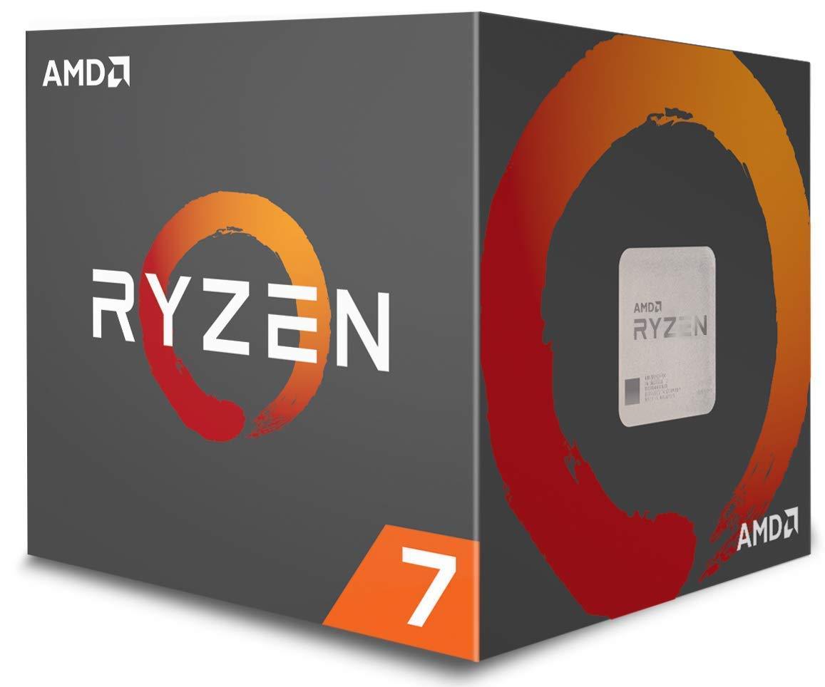AMD Ryzen 7 1700 Processor with Wraith Spire LED Cooler (YD1700BBAEBOX) by AMD