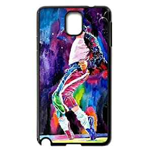 FOR Samsung Galaxy NOTE3 Case Cover -(DXJ PHONE CASE)-Michael Jackson - Love Basketball Sports-PATTERN 7