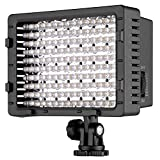 NEEWER CN-216 216PCS LED Dimmable Ultra High Power Panel Digital Camera/Camcorder Video Light, LED Light for Canon, Nikon, Pentax, Panasonic, SONY, Samsung and Olympus Digital SLR Cameras