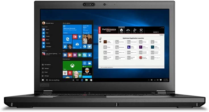Lenovo ThinkPad P52 Laptop 15.6 inch FHD (1920x1080) IPS Intel Core i7-8850H (8th Gen) NVIDIA Quadro P2000 4GB GDDR5 32GB 512GB SSD M.2 Win10 Pro (32GB RAM | 512GB SSD)