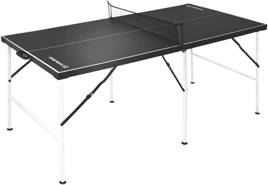 WIN.MAXMesa de Ping-Pong Mediana, Mesa de ping-pong plegable con ...