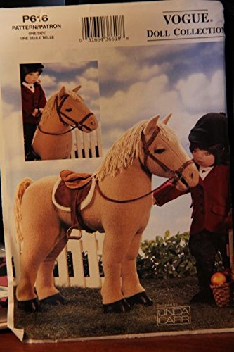 Vogue Doll Collection Pattern P616 / One Size / Horse For 18