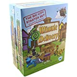 Kaiback Five Minute Delivery Family Friendly Board Game: Big City Set (Perfect for Boys & Girls - Ages 6 & UP)