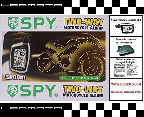 Alarma de moto SPY5000M con módulo sensor de presencia por microondas (Nuevo modelo)