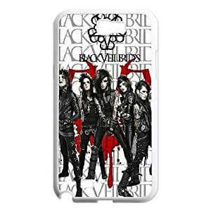 Chinese Black Veil Brides Customized Phone Case for Samsung Galaxy Note 2 N7100,diy Chinese Black Veil Brides Case