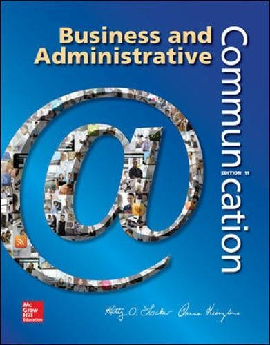 73403253 - Business and Administrative Communication