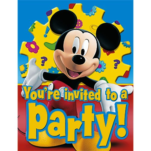 Mickey's Clubhouse Invitations -