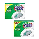 2000 Flushes Blue Plus Bleach Automatic Toilet Bowl Cleaner, 1.25 oz, (Pack of 24)