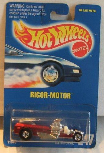 Mattel Hot Wheels Rigor Motor 247 blue card 1991