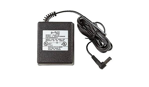 ALIMENTADOR PEDAL - Dunlop (ECB003E) 9 Voltios (Para MXR): Amazon ...