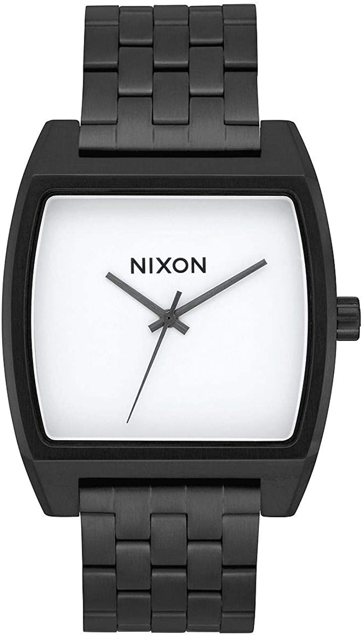 Nixon Time Tracker Watch Black / White