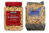 Kirkland Signature Cashews and Walnuts Bundle – Includes Kirkland Signature Whole Fancy Cashews (2.5 LB) and Walnuts (3.0 LB) Review