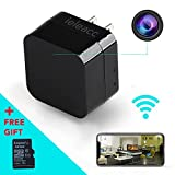 Hidden Camera - HD 1080P - Motion Detection - WiFi Remote View - USB Charging Phones - Alarm Message 32GB SD Card - Home Mini Security - Nanny Cam - Spy Camera