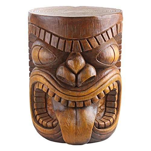 Design Toscano The Grand Tiki Tongue Sculptural Table by Design Toscano
