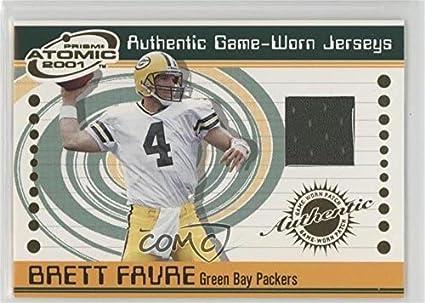 best website 44996 82684 Amazon.com: Brett Favre (Football Card) 2001 Pacific Prism ...