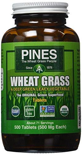 Pines Wheat Grass International Tablets, 500