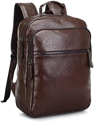 Amazon.com: Men's shoulder bag leather men's bag European and American  style leather bag: Computers & Accessories