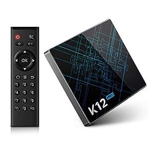 Bqeel K12 Pro Android 6.0 Tv Box Amlogic S912 Octa core 2GB + 32GB eMMC con doble banda WiFi Bluetooth 4.1 Smart tv box