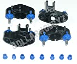 Traxxas Summit FRONT & REAR AXLE CARRIERS - PIVOT BALLS - BUSHINGS - CAPS & BOOTS