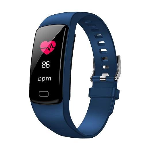 Yivise Reloj Inteligente Deportes Ejercicio Físico Rastreador de Ritmo Cardíaco Presión Arterial Cronómetro Pulsera Relojes(