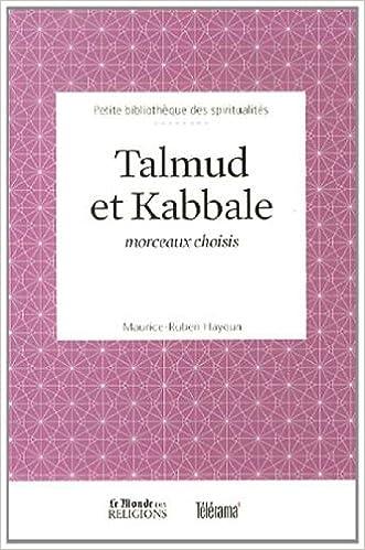 Lire un livre en ligne gratuitement aucun téléchargement Talmud et Kabbale : Morceaux choisis 2351841409 PDF RTF DJVU