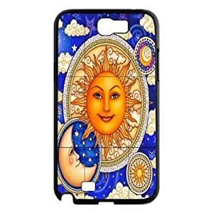Sun Moon Pattern Brand New Cover Case for Samsung Galaxy Note 2 N7100,diy case cover ygtg542712 by icecream design