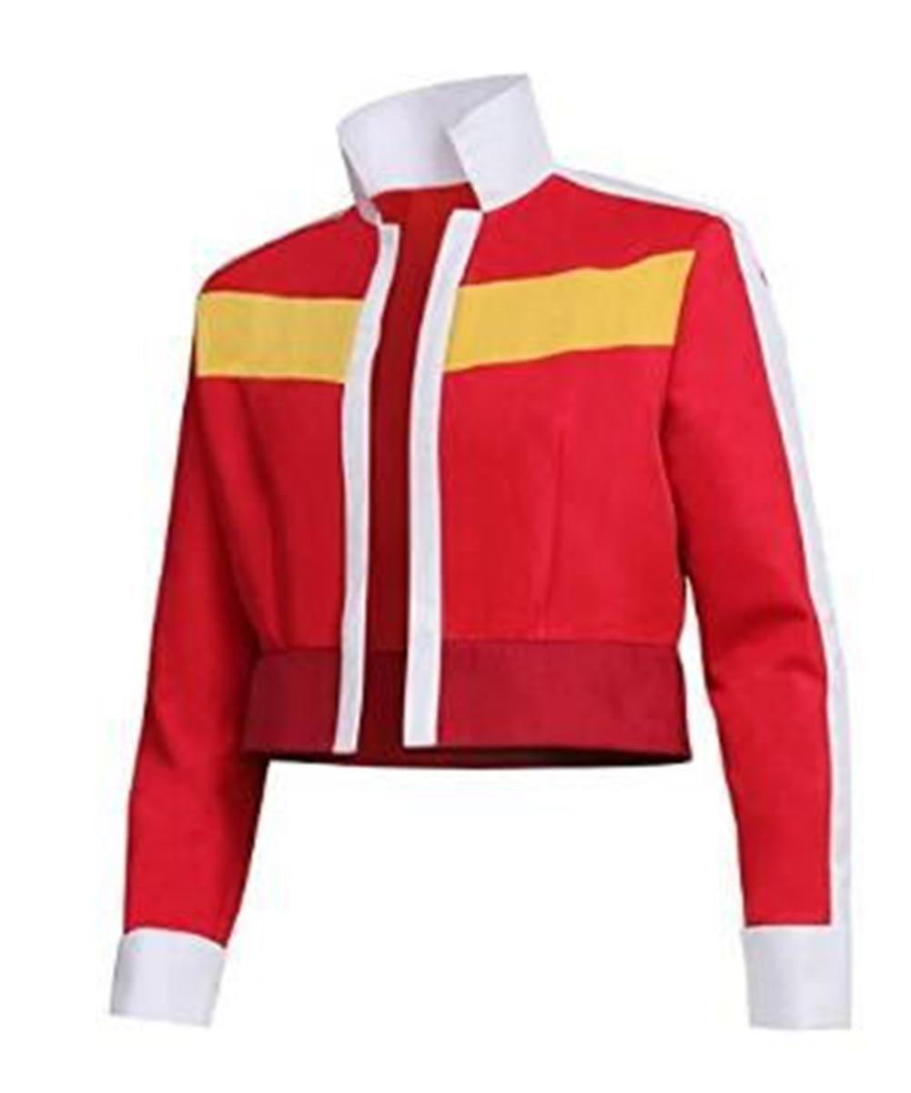 Luyeiand Halloween Men's Jacket for Voltron: Legendary Defender Keith Cosplay Costume