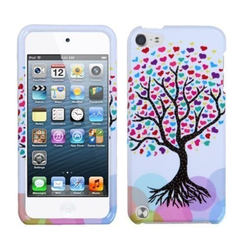 For Apple iPod Touch 5 5th gen HARD Protector Case Snap On Cover Love Tree ()