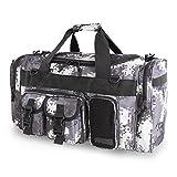 Highland Tactical Ranger Black Digital Camo Tactical Duffle Bag - HLSD85-BKDC