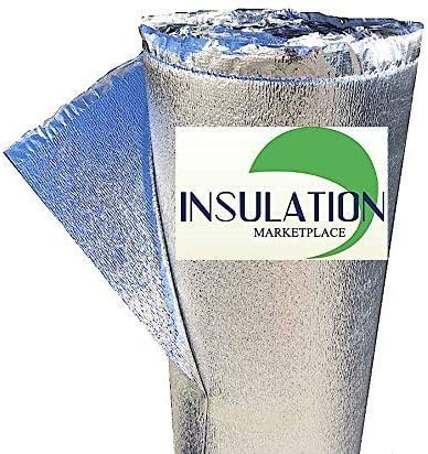 Commercial Grade. Foam Core Radiant Barrier SmartSHIELD -3mm 16x10Ft Reflective Insulation roll Thermal Insulation Shield