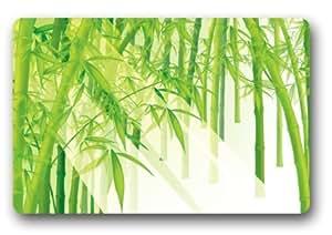 standard-store Custom elegante verde bambú Felpudo