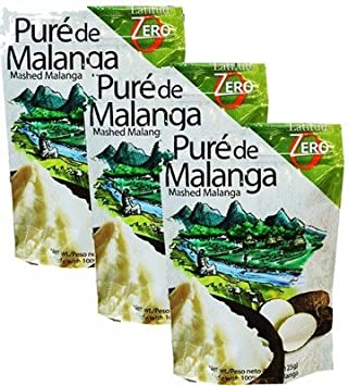 Amazon.com : Malanga Puree. Pure de Malanga. Ready to make 4.4 oz. Pack of 3 : Grocery & Gourmet Food