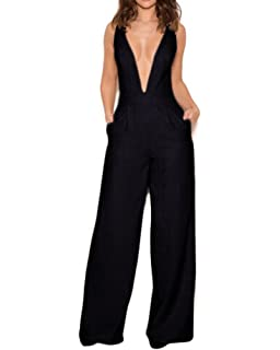 9ce85090f490 Amazon.com  Whoinshop Long Sleeve Mesh Ruffle Flapper Wide Leg ...