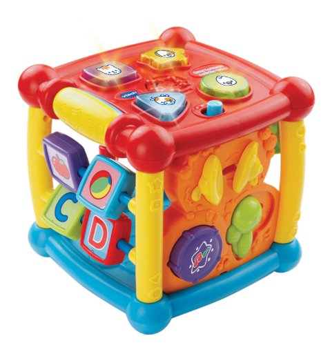 VTech Busy Learners Activity Cube (Interactive Center Learning)
