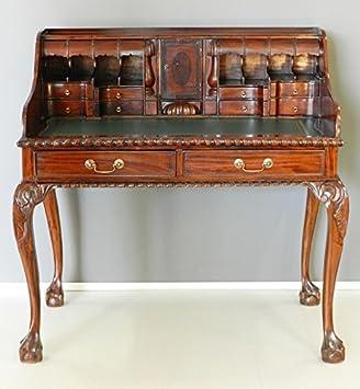 Scrittoio scrivania Lady secretaire in legno massello e piano in ...