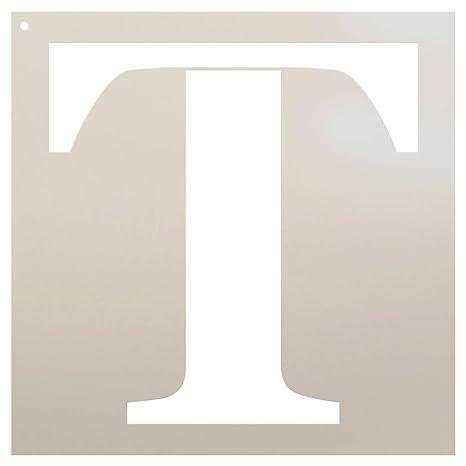 Classic Serif diseño de letra - T - 12