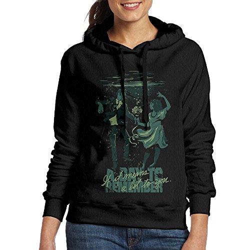 ShipElena A Day To Remember If It Means A Lot To You Fleece Sweatshirt For Women Black