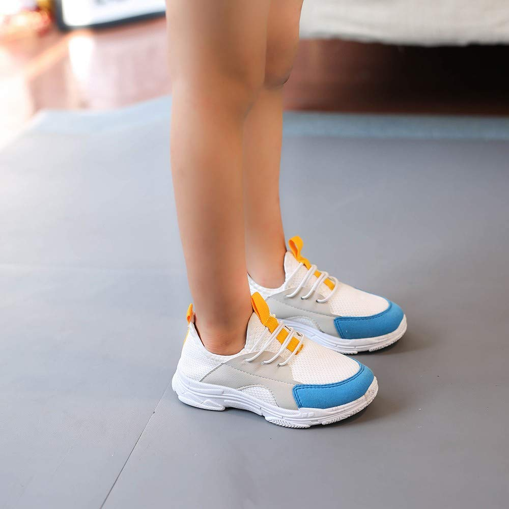 Little Kid//Big Kid Lurryly❤Kids Casual Shoes for Girls Boys Breathable Running Sneakers