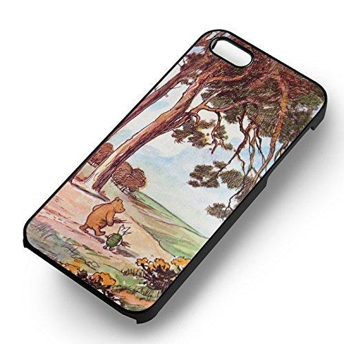Bear et pig vintage pour Coque Iphone 6 et Coque Iphone 6s Case (Noir Boîtier en plastique dur) J7C2BB