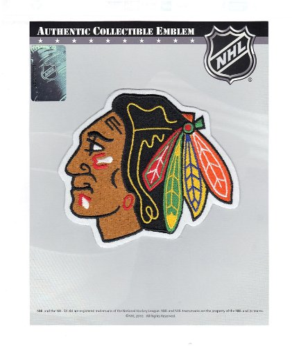 Chicago Blackhawks Primary Team Indian Head Logo Patch ()