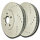 2005 2006 Freightliner Sprinter 3500 Front /& Rear Brake Rotors and Pads 276mmDia