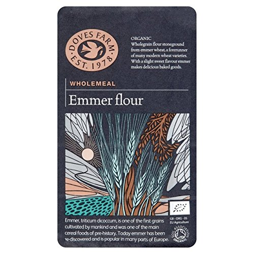 Palomas Granja integral orgánicos Emmer Harina 1kg: Amazon.es: Hogar