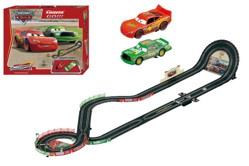 carrera go disney cars slot race car set 1 43 scale buy online in uae toys and games. Black Bedroom Furniture Sets. Home Design Ideas