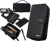 Urvoix iPhone 6 Plus / iPhone 6S Plus Case, Premium Leather Zipper Wallet