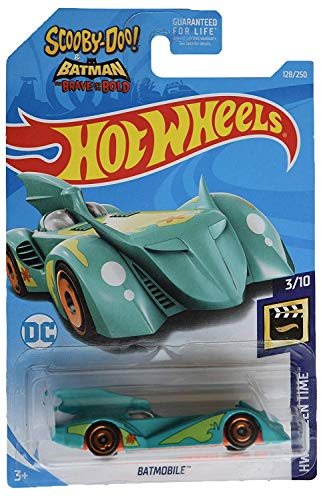 Hot Wheels 2019 HW Screen Time Scooby Doo! and Batman: Brave and the Bold Batmobile 128/250