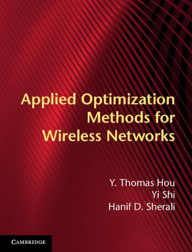 Download Applied Optimization Methods for Wireless Networks Pdf